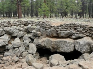 Lava River Cave near Flagstaff, Arizona